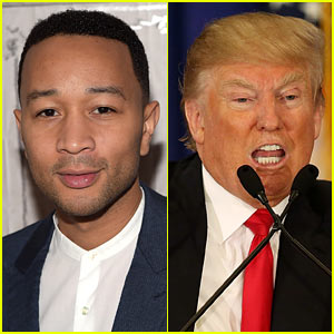 John Legend Calls Donald Trump a Racist in Twitter Battle
