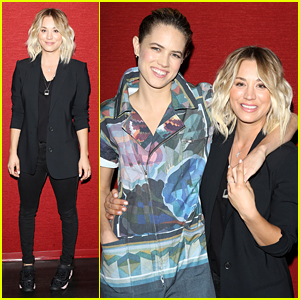 Kaley Cuoco & Cody Horn Premiere New Movie 'Burning Bodhi'