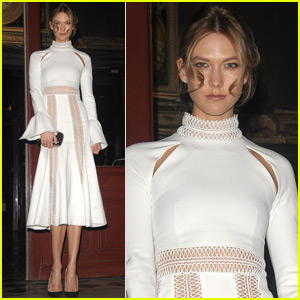 Karlie Kloss Plays Tourist in Paris During Fashion Week