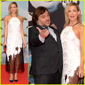 Kate Hudson & Jack Black Get Goofy at 'Kung Fu Panda 3' German Premiere