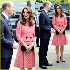 Kate Middleton & Prince William Are an Adorable Couple During XLP Youth Charity Visit!