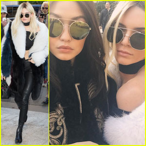 Kendall Jenner is Barely Recognizable as a Blonde in Paris!