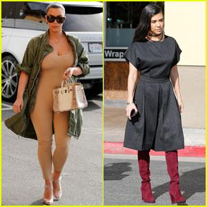 Kourtney Kardashian Says She Loves Kanye West's Tweets
