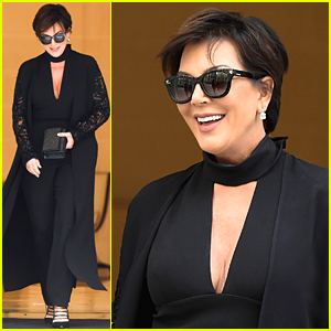 Kris Jenner Is a 'Proud Mama' After Kendall Closes Elie Saab Fashion Week Show