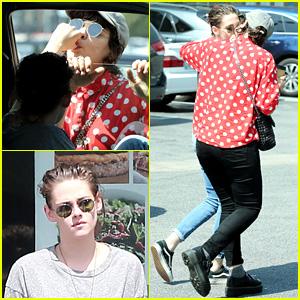 Kristen Stewart's Rumored Girlfriend Soko Sucks on Her Thumb