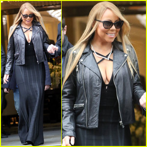 Mariah Carey Goes Toy Shopping With Twins Moroccan & Monroe