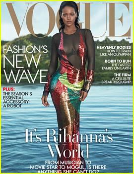 Rihanna Covers 'Vogue,' Talks Beyonce's 'Formation,' Relationships, & More!