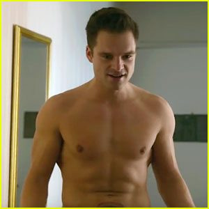 Sebastian Stan Goes Shirtless in New 'The Bronze' TV Spot!