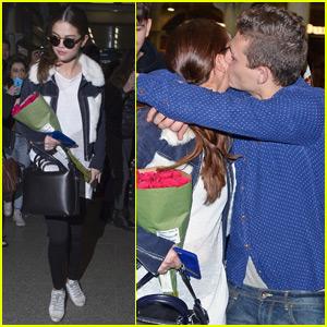 Selena Gomez Gets Kissed By a Fan in London!