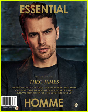 Theo James Grew Up Listening to Hip-Hop & Playing Basketball