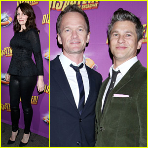 Tina Fey & Neil Patrick Harris Check Out 'Disaster' on Broadway!