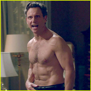 Tony Goldwyn Has Been Shirtless a Lot Lately on 'Scandal'!