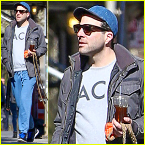 Zachary Quinto Spends Time with Miles McMillan After Closing 'Smokefalls'
