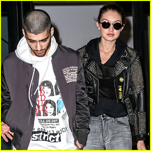 Zayn Malik & Gigi Hadid Hold Hands for NYC Date Night!