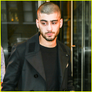 Zayn Malik Proves His Head Tattoo Was Fake While Out in NYC