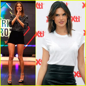Alessandra Ambrosio Keeps Super Busy on a Trip to Madrid!