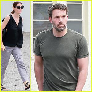 Ben Affleck & Jennifer Garner Spend Family Time with Kids