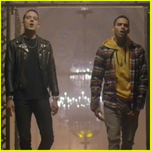 G-Eazy & Chris Brown Drop 'Drifting' Music Video - Watch Now!