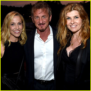 Connie Britton & Sheryl Crow Support Sean Penn at J/P Benefit Concert