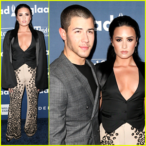 Demi Lovato Receives Vanguard Honor at GLAAD Media Awards 2016