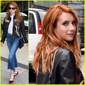 Emma Roberts Has Some 'Downtown Down Time' in NYC