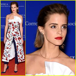 Emma Watson Arrives at White House Correspondents' Dinner 2016