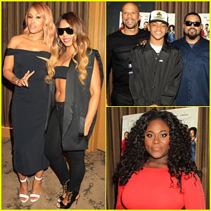 Eve & 'Barbershop: The Next Cut' Co-Stars Hit New York City!