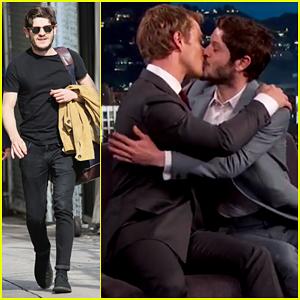 'Game of Thrones' Iwan Rheon & Alfie Allen Kiss & Make Up on 'Kimmel' (Video)!