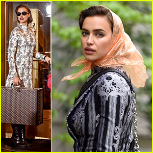 Irina Shayk Continues Central Park Fashion Shoot