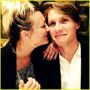 Kaley Cuoco Cuddles Up to Karl Cook in Cute New Photo!