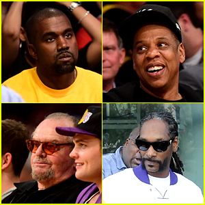Kanye West, Jay Z & More Step Out for Kobe Bryant's Final Game