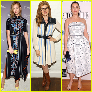 Karlie Kloss, Connie Britton, & More Attend Pre-WHCD Events!