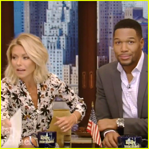 Kelly Ripa Brings Up Michael Strahan's Divorces in Awkward 'Live!' Moment (Video)