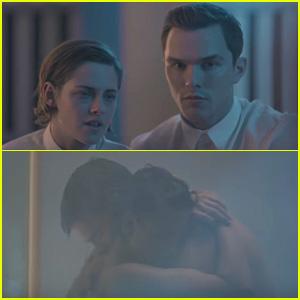 Kristen Stewart & Nicholas Hoult Fall in Love in 'Equals' Trailer - Watch Now!