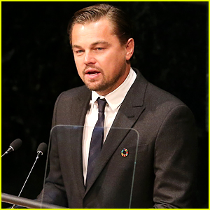 Leonardo DiCaprio Gives Earth Day Speech at UN (Video)