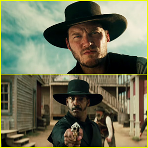 Denzel Washington & Chris Pratt Lead Outlaws in 'The Magnificent Seven' Trailer - Watch Now!