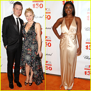 Megan Hilty & Patina Miller Rep Broadway at ASPCA Event!