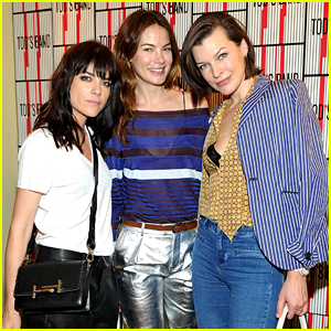 Michelle Monaghan & Milla Jovovich Celebrate Tod's in Support of Baby2Baby