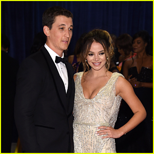 Miles Teller & Keleigh Sperry Couple Up at White House Correspondents' Dinner 2016