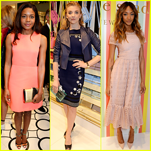 Naomie Harris & Natalie Dormer Celebrate Kate Spade New York in London!