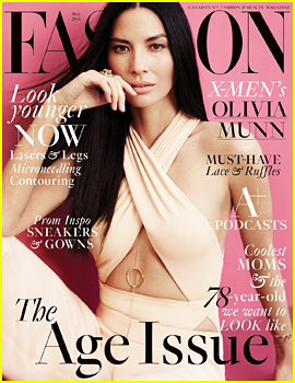 Olivia Munn Tells 'Fashion' Mag That Plastic Surgery Rumors Are 'Unfair'