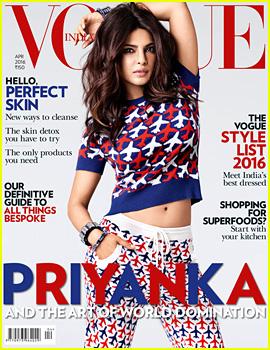 Priyanka Chopra Lands Fifth International 'Vogue' Cover!