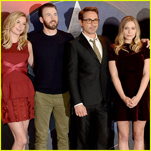 Robert Downey Jr. Brings 'Captain America' to London