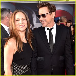 Robert Downey Jr. with Wife Susan Levin