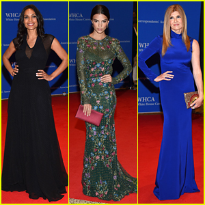 Rosario Dawson Joins Emily Ratajkowski at White House Correspondents' Dinner 2016