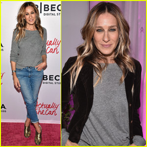 Sarah Jessica Parker Helps Premiere #ActuallySheCan Film Series