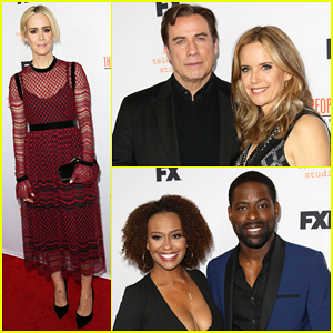 Sarah Paulson & 'American Crime Story' Cast Reunite Ahead Of Series Finale!