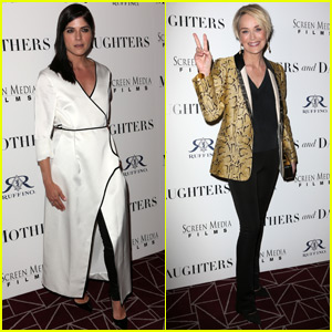 Selma Blair & Sharon Stone Help Premiere 'Mothers & Daughters'