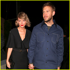 Taylor Swift & Calvin Harris Hold Hands for Romantic Date Night