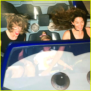 Taylor Swift Goes to Disneyland with Lily Aldridge & Dixie!
